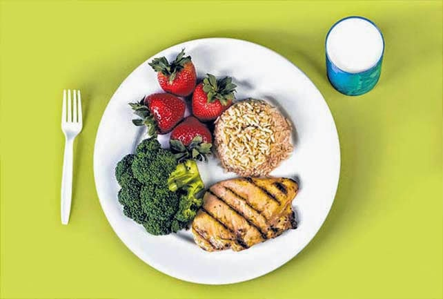 Creating A Healthy Plate Begins With The Itself Studies Have Shown That Individuals Who Use Smaller Plates Tend To Eat Less At Mealtime